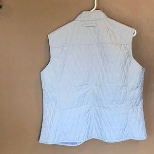 Van Heusen Jackets & Coats - New Van Heusen Tan ladies vest button down